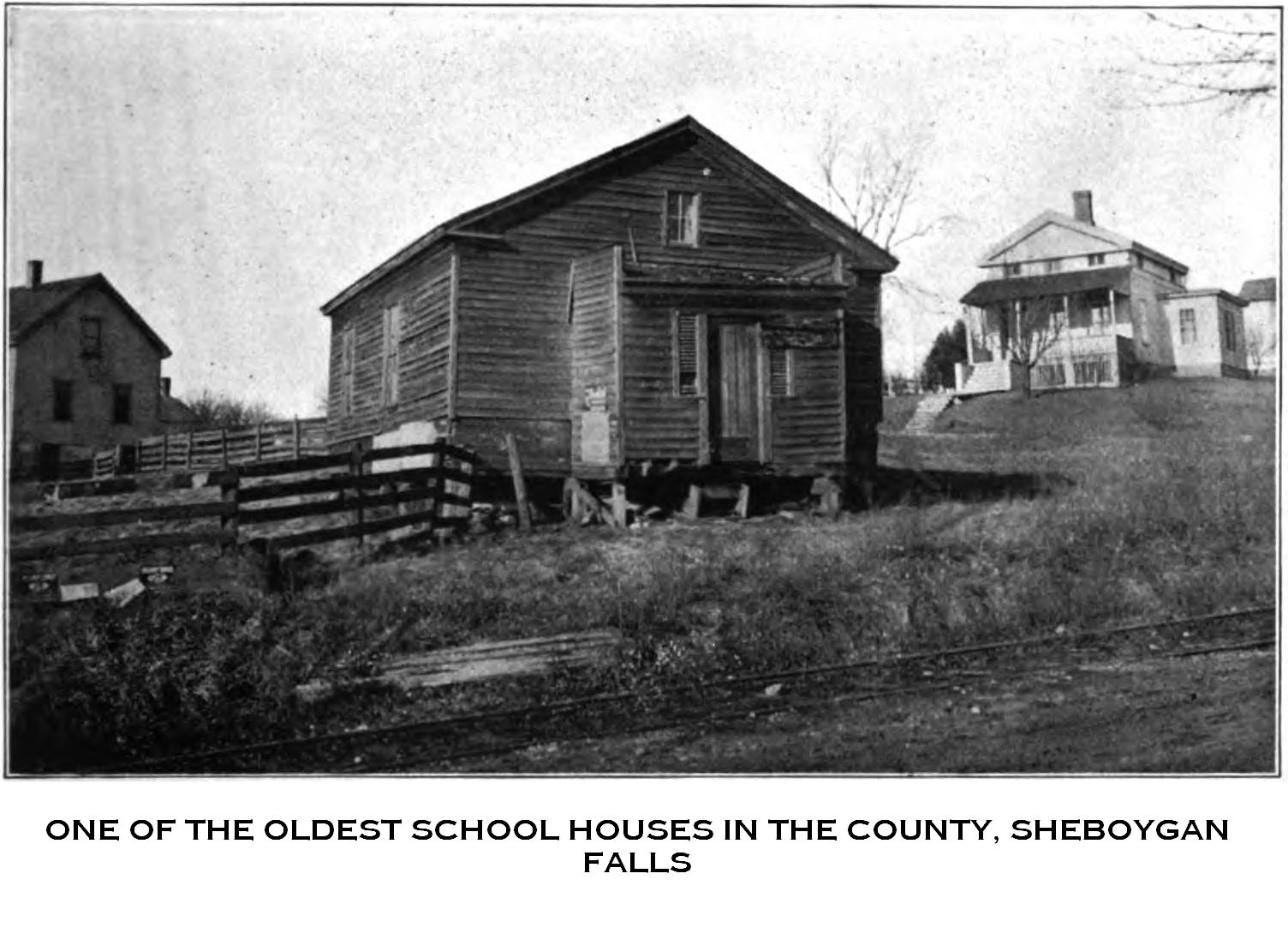 'old Sheboygan Schoolhouse