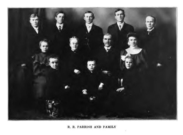 R. R. Parrish and Family